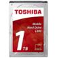 "Накопитель на жестком магнитном диске TOSHIBA Жесткий диск TOSHIBA HDWL110UZSVA L200 Slim  (7mm) 1ТБ 2, 5"" 5400RPM 128MB SATA-III"