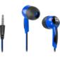 Defender Наушники вставки Basic 604 черный + голубой