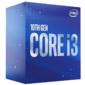 CPU Intel Core i3-10100F  (3.6GHz / 6MB / 4 cores) LGA1200 BOX,  TDP 65W,  max 128Gb DDR4-2666,   BX8070110100FSRH8U