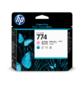 Печатающая головка HP 774 светло-пурпурная и светло-голубая