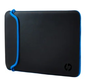HP 15.6 Blk / Blue Chroma Sleeve