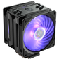 Cooler Master CPU Cooler Hyper 212 RGB Black Edition,  650 - 2000 RPM,  180W,  Full Socket Support