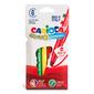 Фломастеры Carioca Bravo 42767 6мм 6цв. блистер картонный