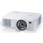 Canon projector LV-WX310ST,  DLP,  1280x800  (WXGA),  Short Throw,  3100 Lm  (2450 Lm Eco Mode),  10000:1,  4000 Hrs  (6000 Hrs Eco Mode),  USB-B,  HDMI 1.3,  LAN,  2, 8 kg