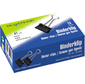 Зажимы Silwerhof 510005 сталь 41мм черный  (упак.:12шт) картонная коробка