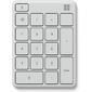 Microsoft Bluetooth Number pad Monza,  Grey