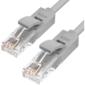 Greenconnect GCR-LNC03-5.0m Патч-корд UTP прямой ethernet 5.0m кат.5е,  RJ45,  литой (Серый)