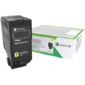 Картридж Lexmark с тонером желтого цвета стандартной емкости для организаций 7000 стр. для CX725de,  CX725dhe,  CS725de,  CS720de