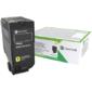 Lexmark CX725 Yellow High Yield Return Program Toner Corporate Cartridge 16, 000 pages  CX725