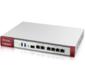 Zyxel ZyWALL USG FLEX 200 firewall with 1 year subscription set  (AS,  AV,  CF,  IDP),  Rack,  3xWAN GE  (2xRJ-45 and 1xSFP),  4xLAN  /  DMZ GE,  2xUSB3.0,  AP Controller  (8 / 40 )