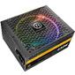 Блок питания Thermaltake ATX 650W Toughpower Grand DPS G 80+ gold  (24+4+4pin) APFC 140mm fan color LED 9xSATA Cab Manag RTL