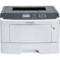 Lexmark MS417dn монохромный A4,  38ppm,  256 Mb,  1 tray 150,  USB,  Duplex,  Cartridge 2500 pages in box