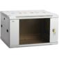 """19"""" настенный шкаф 15U 600x450 стекл. передняя дверь,  серый  (плоск. упак)"""