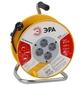 ЭРА Б0033020 Удлинитель силовой RP-4-3х0.75-20m с заземлением 4 гн 3х0.75мм пластиковая катушка