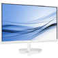 "Philips 224E5QSW 21.5"",  AH-IPS 1920x1080,  LED,  16:9,  5ms,  VGA,  DVI-D,  10M:1,  178 / 178,  250cd,  Glossy-White"