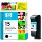 HP картридж 15 к DJ 810C / 816C / 825C / 840C / 843C / 845C / 916C / 920C / 940C / 3810 / 3816 / 3820 / 3822 / PSC  750 ,  black  (25ml)
