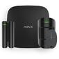 AJAX StarterKit Black 10021.00.BL2  (Стартовый комплект  (интеллектуальная централь,  датчик движения,  датчик открытия,  брелок) чёрный)