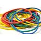 Резинки для купюр Silwerhof 189020 d=60мм 2мм 1000гр ассорти пластиковый пакет