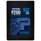 "SSD жесткий диск SATA2.5"" 512GB P200 P200S512G25 PATRIOT"
