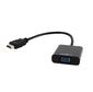 "HDMI->D-Sub(F)+аудио Gembird ""Cablexpert A-HDMI-VGA-03"" (0.15м)"