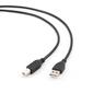 Кабель Gembird USB 2.0 CCP-USB2-AMBM-10 Pro AmBm 3м черный