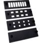 Панель LANMASTER  (LAN-APM-8FC) адаптерная на 8 дуплексных SC адаптеров. для кроссов LAN-FOBM