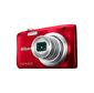 Фотоаппарат цифровой Nikon A100 красный,  20Mpx CCD,  zoom 5x,  HD720,  экран 2.6'',  Li-ion