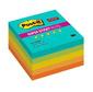 Блок самоклеящийся бумажный 3M Post-it Super Sticky 654-5SSNRP Тропик 7100048298 76x76мм 90лист. ассорти 5цв.в упак.  (упак.:5шт)