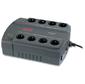 APC Back-UPS ES 400VA / 240W,  230V,  8 Schuko outlets  (4 Surge & 4 batt.),  Data / DSL protection,  user repl. batt.,  3 year warranty