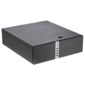 Сase Foxline FL-203-TFX300S mATX Desktop 300W,  2xUSB3.0,  2xUSB2.0,  toolless,  Black,  8cm. fan,  powercord
