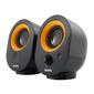 Sven SV-0120316BL,  чёрный,  USB,  акустическая система 2.0,  мощность 2х2 Вт (RMS)