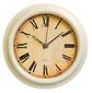Часы настенные аналоговые Бюрократ WallC-R74P слоновая кость
