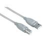 Кабель USB 2.0 A-B  (m-m),  1.8 м,  *,  серый,  Hama     [ObC]