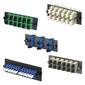 Панель коммутационная Panduit Панель адаптеров OPTICOM 6 адаптеров LC дуплекс 9 / 125мкм  (синий)