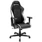 DXRacer OH/DF73/NW_ Компьютерное кресло игровое Drifting series, цвет черный с белыми вставками, нагрузка 120кг. Мятая упаковка!