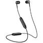 Sennheiser CX 350 BT Black,  Внутриканальные Bluetooth наушники с микрофоном,  17 - 20000 Гц,  Bluetooth 5.0,  кодек ААС,  aptX,  aptX LL,  время работы до 10 ч,  зарядка USB-С,  Sennheiser Smart Control