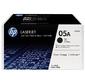 Kартридж Hewlett-Packard HP 05A Black 2-pack LaserJet Toner Cartridge  (CE505D)