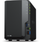 Synology  DC 2, 0GhzCPU / 2GB (upto6) / RAID0, 1 / up to 2HDDs SATA (3, 5' 2, 5') / 3xUSB3.0 / 1eSATA / 1GigEth / iSCSI / 2xIPcam (up to 25) / 1xPS  / 2YW