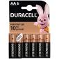 Батарейка Duracell Basic LR6-6BL AA 6-штук в упаковке
