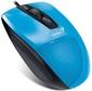 Мышь Genius DX-150X,  USB  (голубая / чёрная,  оптическая 1000dpi)