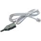 Соединительный шнур TWT  (TWT-LSA-P2-12-1.5m) для плинтов. 2-х полюсный LSA / RJ12. 1.5м