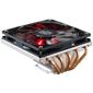 CPU Fan GeminII M5 LED  (RR-T520-16PK) для Intel  (LGA1366 / 1156 / 1150 / 1155 / 775) и AMD FM1 / AM3+ / AM3 / AM2+ / AM2,  TDP 140Вт,  Al,  вент 120х120х15мм,   500-1600об / мин,  4пин,  PWM,  17.4-58.4CFM,  8-30dBA