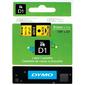 Картридж ленточный Dymo D1 S0720730 черный / желтый для Dymo