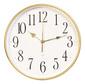 Часы настенные аналоговые Бюрократ WallC-R76P белый
