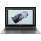"""HP ZBook 15 G6 Core i7-9850H 2.6GHz, 15.6"""" FHD  (1920x1080) IPS AG, nVidia Quadro RTX3000 6G, 32768Mb DDR4-2666 (2), 512гб SSD, 90Wh LL, FPR, 2.6kg, 3y, Silver, Win10Pro64"""