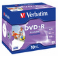 Диск DVD+R 4.7ГБ 16x Verbatim 43508 Photo PRINTABLE  (10шт. / уп.)