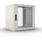 Шкаф настенный ЦМО ШРН-М-9.500 9U 600x520мм пер.дв.стекл съемные бок.пан. 50кг серый