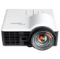 Проектор Optoma ML1050ST+  (DLP,  LED,  WXGA 1280x800,  1000Lm,  20000:1,  HDMI,  MHL,  USB,  MicroSD,  Universal I / O,  1x1W speaker,  3D Ready,  led 20000hrs,  short-throw,  White-Black,  0.42kg)