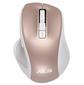 Мышь ASUS MW202 Silent Wireless Optical MW202 Беспроводная .4000 dpi.74.73 x 39.13 x 106.84 мм .64 грамма.Белый+розовый