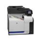 Лазерное многофункциональное устройство HP LaserJet Pro 500 color M570dn MFP  (p / s / c / f, A4, 600dpi, 30 (30)ppm, 256Mb, 2 trays 100+250, Duplex,  ADF 50 sheets, LCD, USB / ext.USB / LAN,  1y warr)